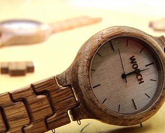 Hodinky zasazené do dřeva s PÚ OSMO TVO 3032 b0d346166e